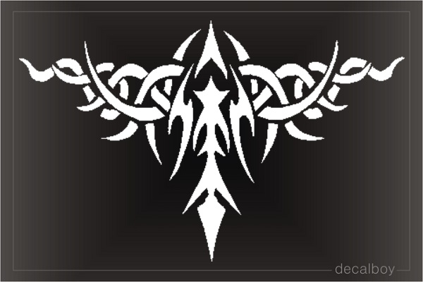 Tattoo Graphic Die-cut Decal