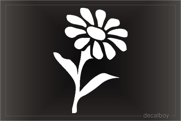 Daisy Window Decal