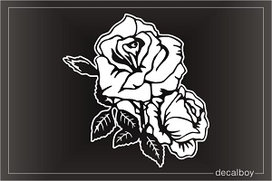 Celebrity Roses Window Decal