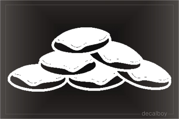 Cookies 2 Car Window Decal