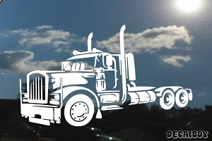 Freight Semi Truck Decal