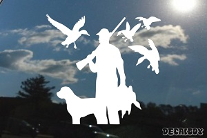 Goose Hunting Decal
