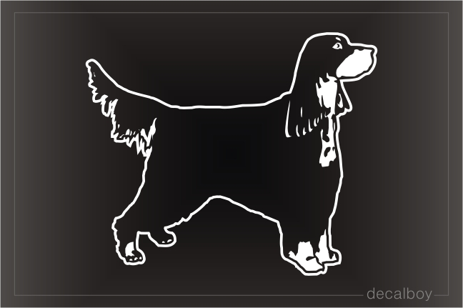Gordon Setter Decal