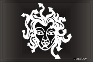 Greek Mythical Medusa Car Decal