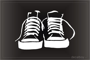 High Top Sneakers Decal