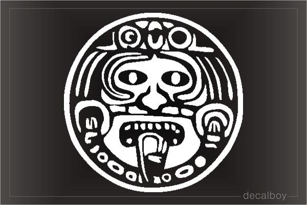 Aztec Calendar Decals Amp Stickers Decalboy