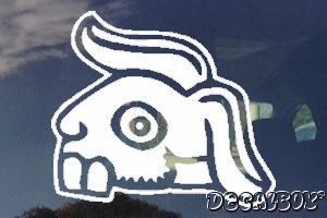 Aztec Tochtli Rabbit Auto Decal