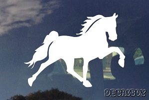 Andalusian Horse Car Window Decal