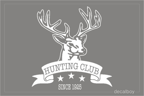 Hunting Decals Amp Stickers Decalboy