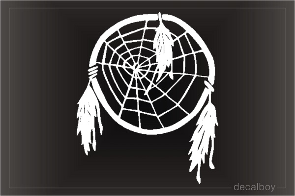 Dream Catcher Car Window Decal