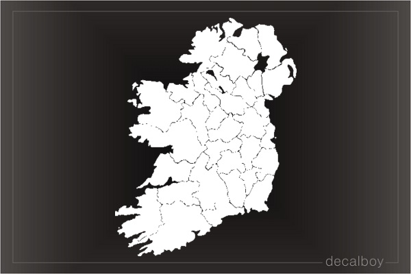 Ireland Auto Decal