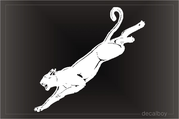 Jaguar 442 Window Decal