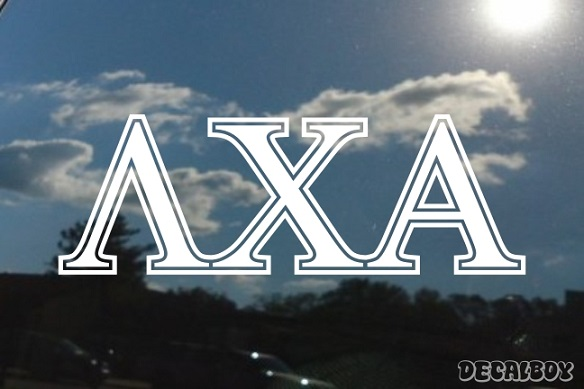 Lambda Chi Alpha Vinyl Die-cut Decal