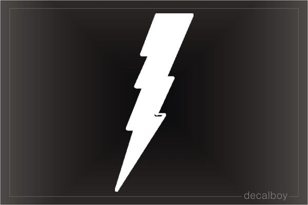 Lighting Thunder Car Decal