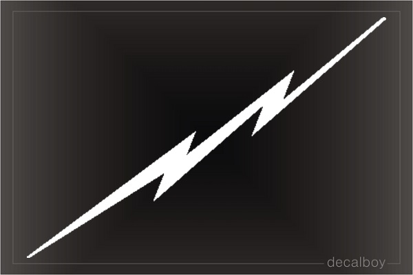 Lightning Car Decal