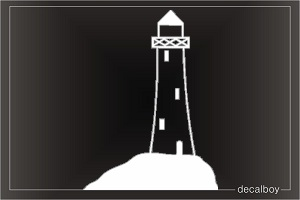 Lighthouse Car Decal