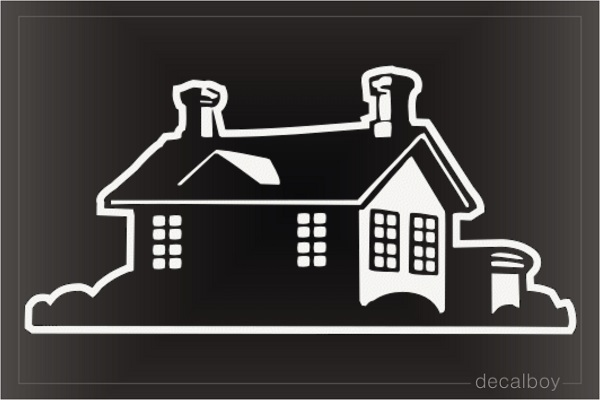 Little House Decal