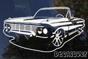 Lowrider Custom Car Decal