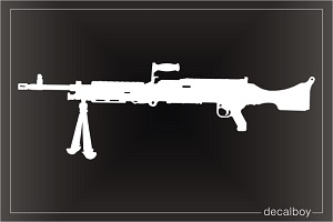 M240b Weapon Machine Gun Decal