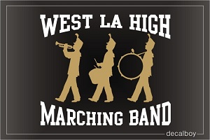 Marching Band Logo Decal