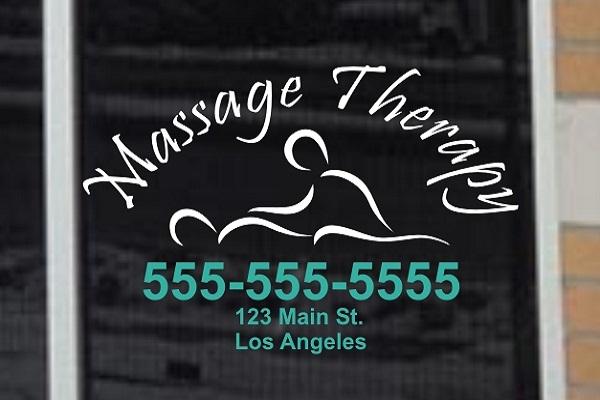 Massage Decals Amp Stickers Decalboy