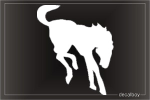 Mustang 693 Car Window Decal