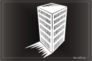 Office Building Car Decal