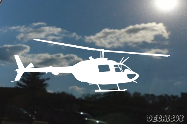OH 58ac Helicopter Decal