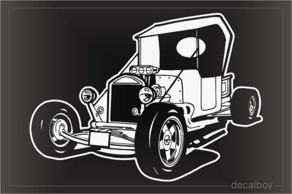 Old Car Classic Car Decal