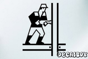 Construction Car Window Decal