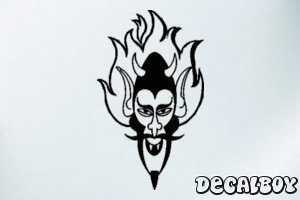 Devil Car Window Decal