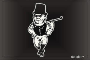 Leprechaun Car Window Decal