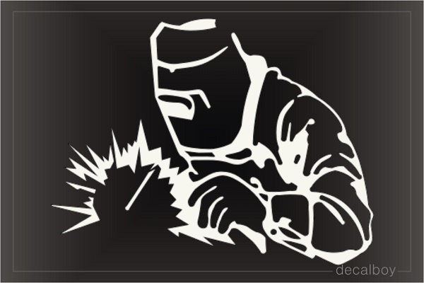Welder 12 Decal