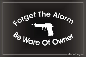 Be Ware Of Owner Car Decal