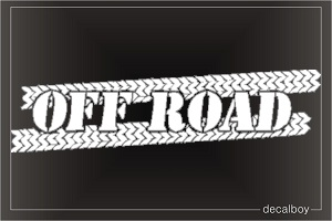 Racing Off Road Window Decal