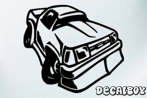 Racing Truck Bronco Window Decal