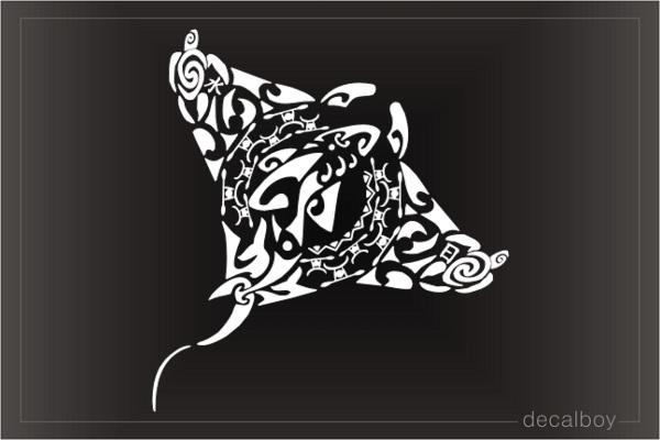 Manta Ray Decals Amp Stickers Decalboy