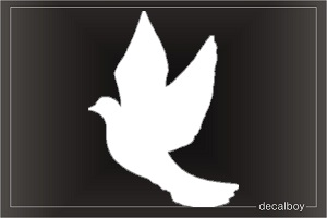 Dove Window Decal