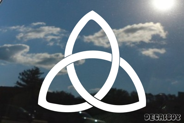 Holy Trinity Window Decal