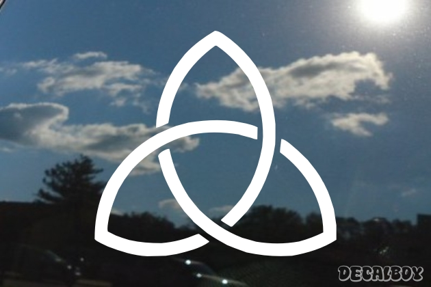 Holy Trinity 2 Window Decal