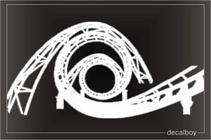 Rollercoaster Car Decal