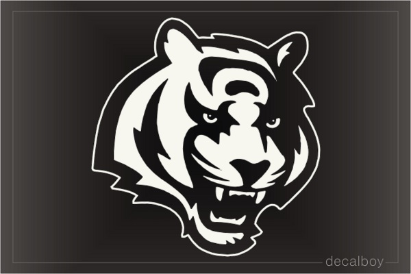 Royal Bengal Tiger Window Decal
