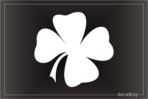 Shamrock Window Decal
