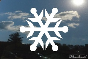 Snowflake Car Decal