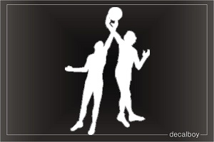 Basketball Players Window Decal