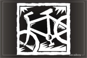 Bicycle Window Decal