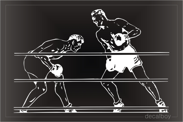Boxers Window Decal