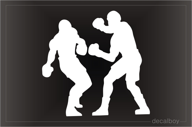 Boxing 2 Window Decal