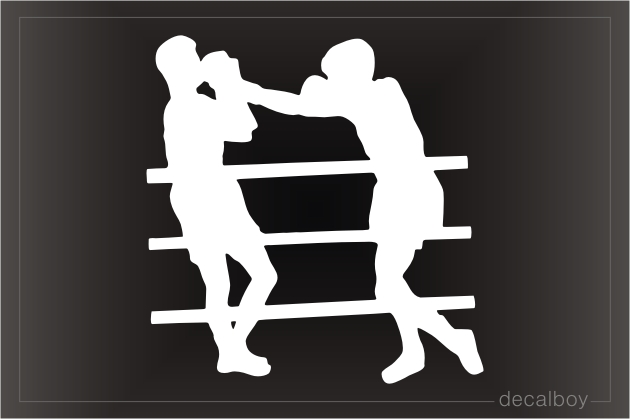 Boxing 4 Window Decal