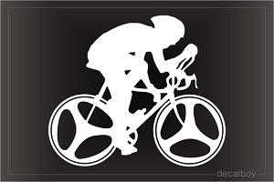 Cycler Window Decal